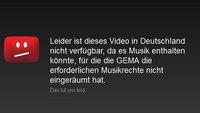 GEMA gegen YouTube: So geht es nach der Einigung weiter