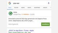 App-Installation aus der Google-Suche bald möglich – ohne Umweg über den Play Store