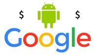 Google hat mit Android 31 Milliarden US-Dollar Umsatz gemacht