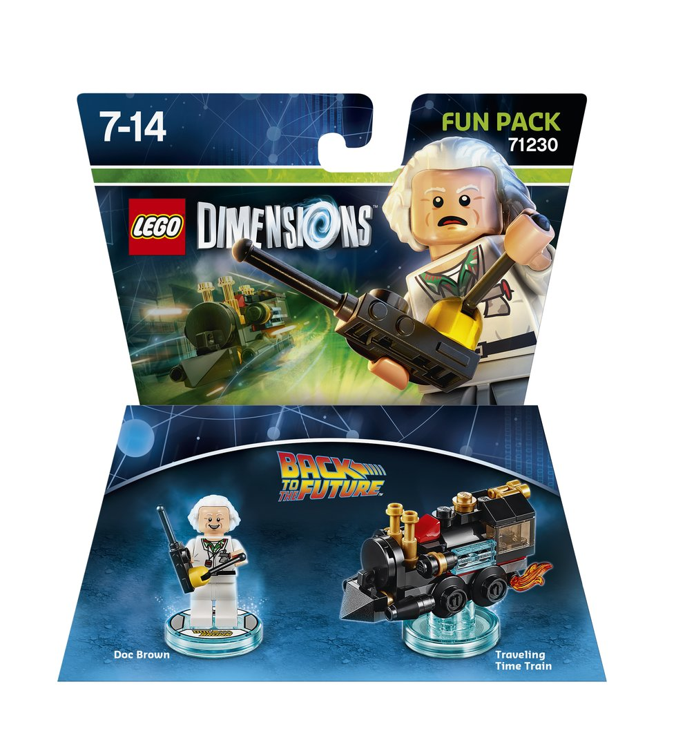LD FUN PACK BTTF DOC BROWN 2D