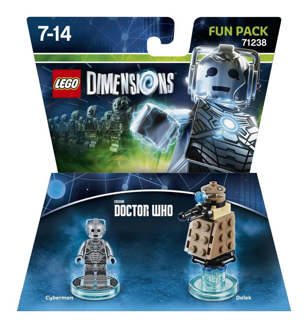 LD FUN PACK DR WHO CYBERMAN 2D