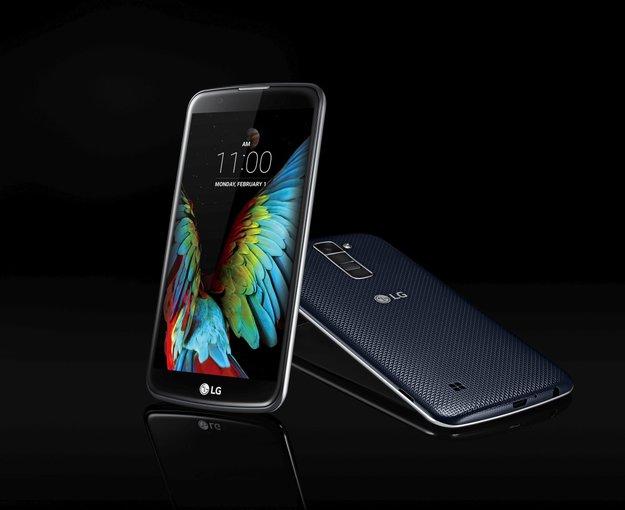 LG K-Serie: K10 und K7 mit Fokus auf Kamera-Qualität vorgestellt [CES 2016]