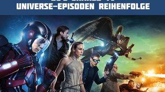 Legends of Tomorrow-Episodenguide: In dieser Reihenfolge müsst ihr Arrow, Flash und LoT gucken (Infografik)