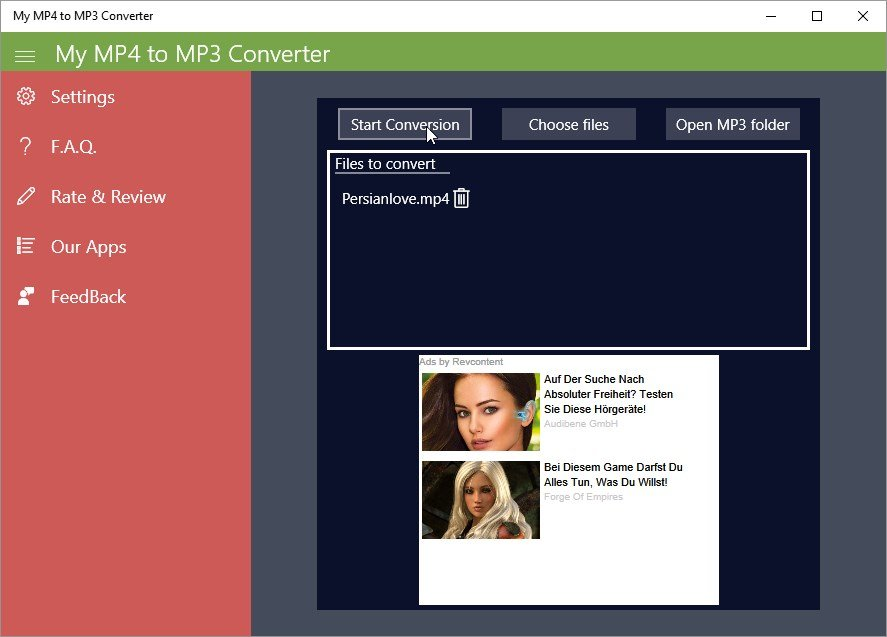 MP4-to-MP3-Converter