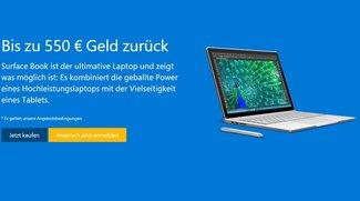 Surface Book kaufen & bis zu 550€ Cashback für Altgerät erhalten