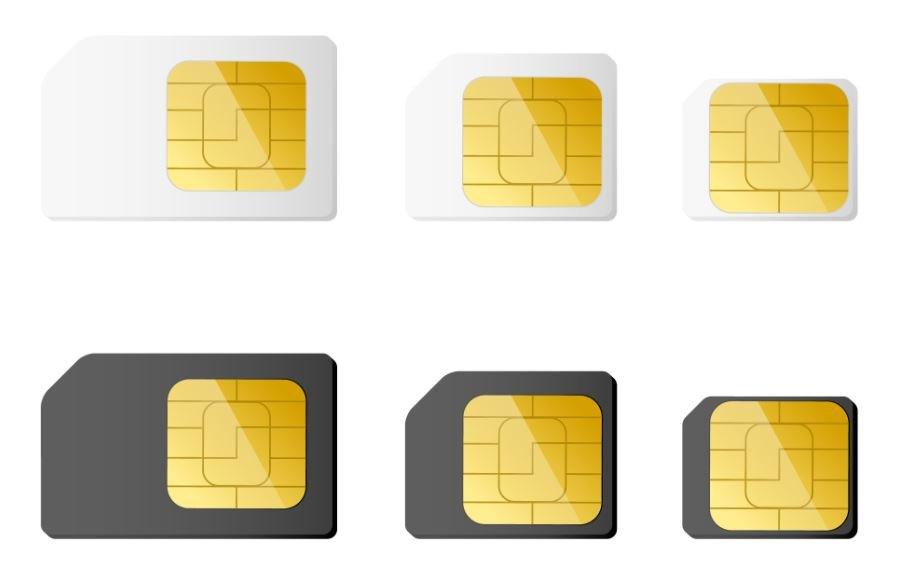 Nano SIM Schablone zuschneiden