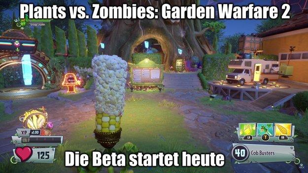 Plants vs. Zombies - Garden Warfare 2: Die Beta startet heute (+ Gameplay-Video)