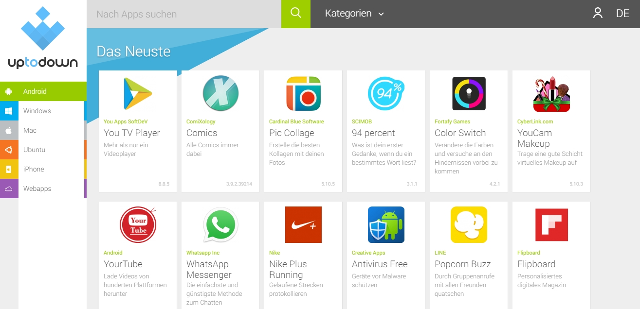 google play store latest version download uptodown