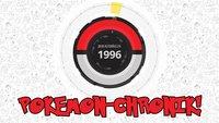 Pokemon wird 20 Jahre: Coole Chronik zeigt die Geschichte der Spielereihe