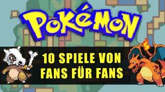 Diese 10 Pokémon-Fanspiele sind saucool - und wir zeigen dir, wo du sie kostenlos zocken kannst!