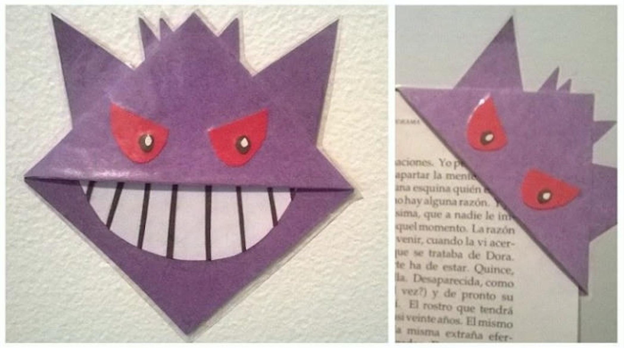 Außergewöhnlich Lesezeichen Basteln Aus Papier Beste Wahl Pokemonlesezeichen_8