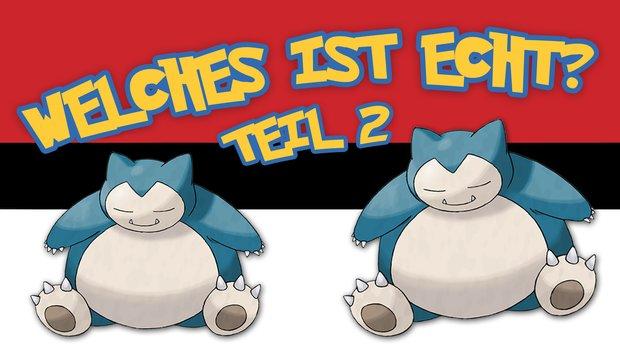 Pokémon-Quiz: Erkennst du die Doppelgänger? - Teil 2