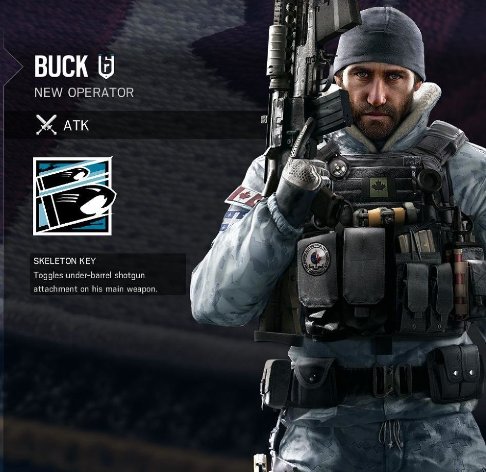 Rainbow Six Siege Buck 2