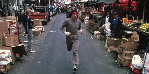 Sylvester Stallone in Rocky 2