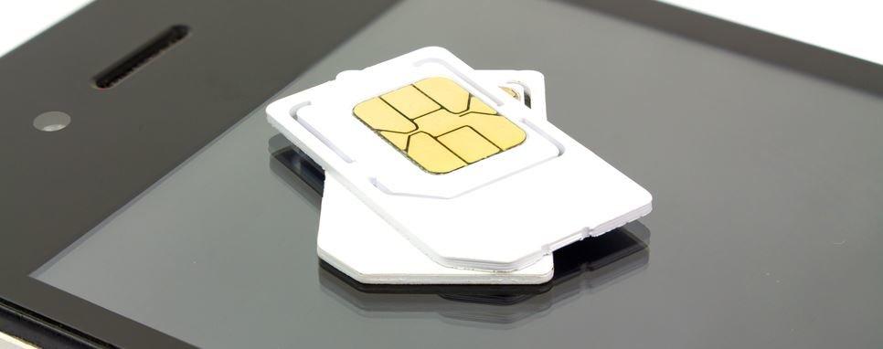SIM Karte Schablone Nano Micro