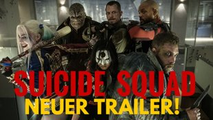 Neuer Suicide Squad-Trailer: Die DC-Crew greift Marvels Guardians of the Galaxy an