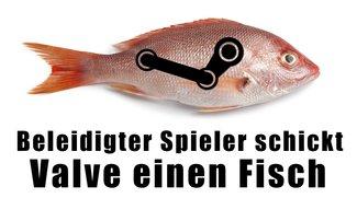 """Spieler fühlt sich vom Steam ARG verarscht und schickt Valve einen echten """"roten Hering"""""""
