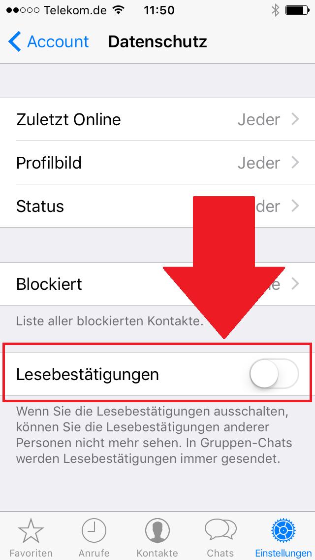 whatsapp blaue haken und nicht online