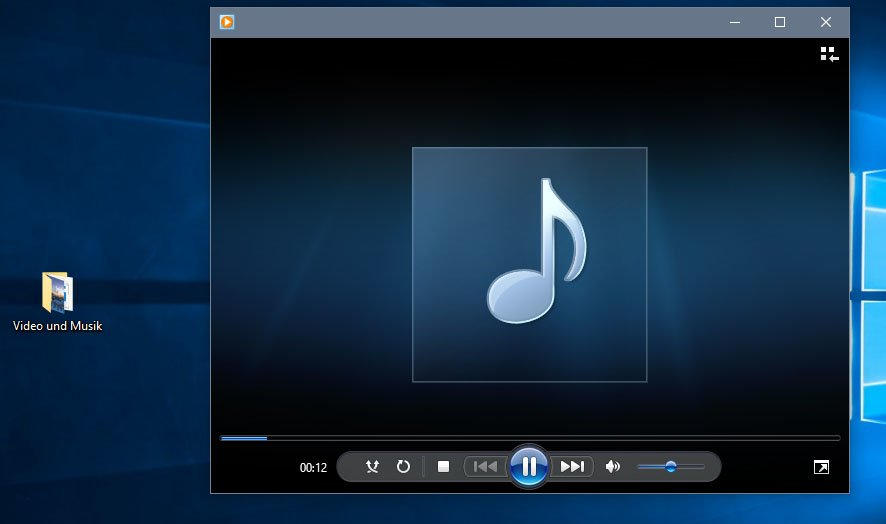 Den Media Player gibt es auch in Windows 10.