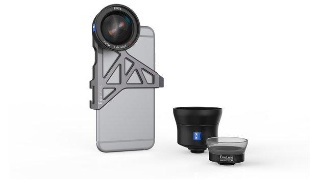 Zeiss und ExoLens versprechen bessere Fotos mit dem iPhone