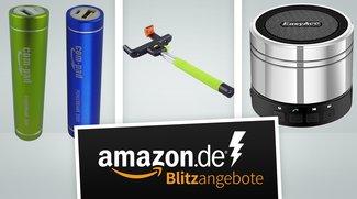 2er Akkupack-Set, Bluetooth-Lautsprecher und Selfie-Stick in den Amazon-Blitzangeboten