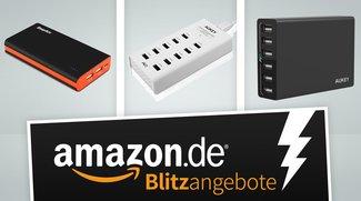 Für vollen Akku: Akkupack und Mehrfach-Ladegeräte in den Amazon-Blitzangeboten stark vergünstigt