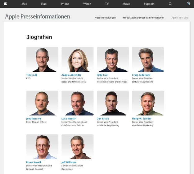 "Aktionär findet Apples Management ""zu weiß"""