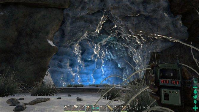 Die südliche Eishöhle. (Quelle: ARK)