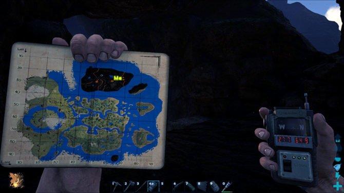 ARK - Survival Evolved: alle Höhlen auf der Karte (Update
