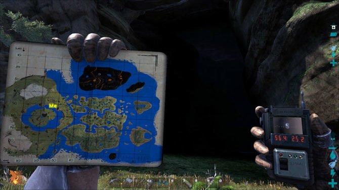 """Die zentrale Höhle """"The Center"""". (Quelle: ARK)"""