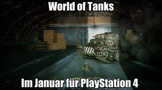 World of Tanks: Der Release für die PlayStation 4 ist zum Greifen nahe
