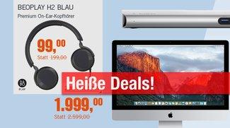 Blitzangebote und CyberDeals: B&O Kopfhörer mit 50% Rabatt, iMac 5K, Thunderbolt 2 Dock u.v.m. zu Bestpreisen
