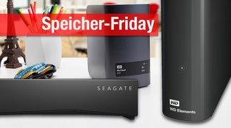 Blitzangebote: Externe NAS und Festplatten von Seagate und WD nur kurze Zeit zu Bestpreisen!
