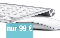 Restposten: Apple Wireless Keyboard + Apple Magic Mouse im Bundle nur 99 Euro!