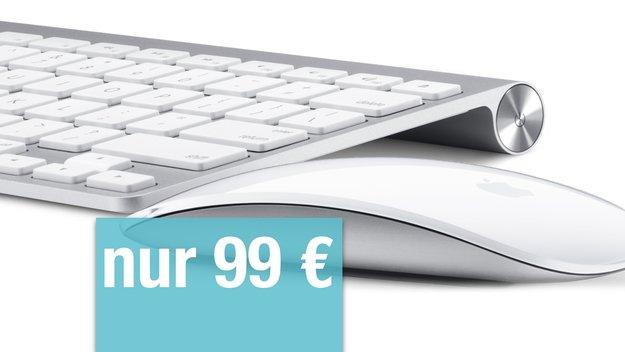 Restposten: Apple Wireless Keyboard + Apple Magic Mouse im Bundle nur 99 Euro!