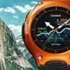 Casio Smart Outdoor Watch WSD-F10: Robuste Smartwatch mit einem Monat Akkulaufzeit...