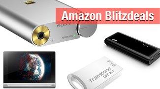 Blitzangebote: Externer Akku, Kopfhörerverstärker, USB-Stick, Lenovo-Tablet