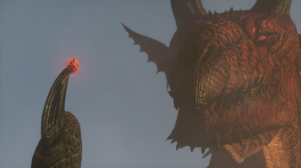 Um gegen diesen Drachen zu kämpfen, hilft nur der Glaube an die Liebe... und starke Waffen