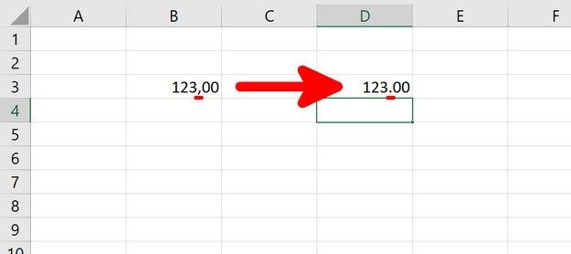 Excel: Punkt statt Komma als Dezimalzeichen verwenden – so geht's