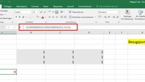 Excel: Bereich verschieben – Funktion mit Beispiel erklärt