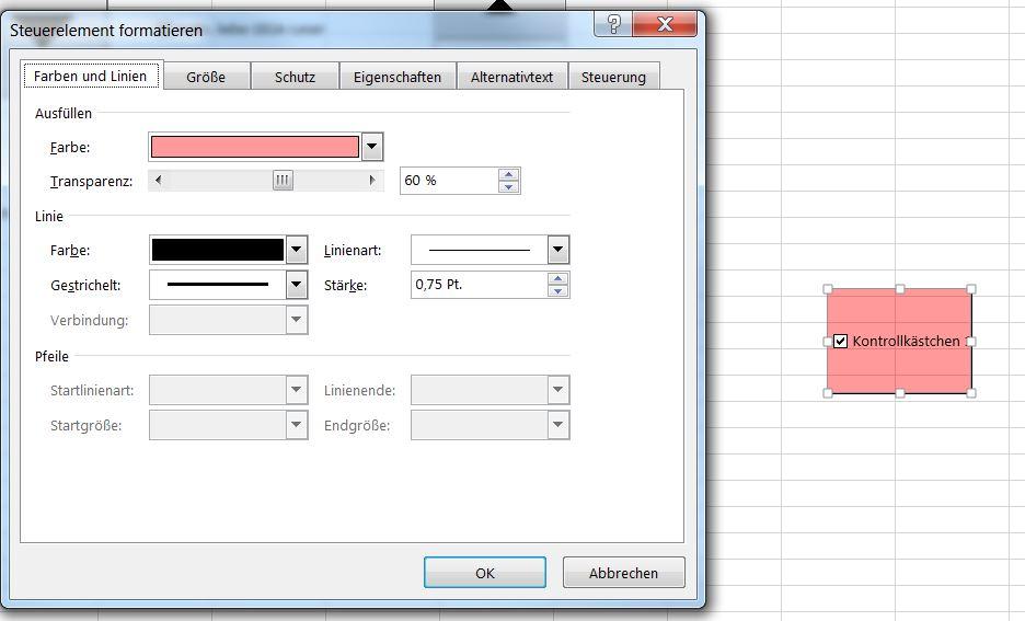 Excel: Checkbox einfügen, vergrößern und entfernen - GIGA