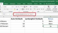 Excel: UND-Funktion am Beispiel erklärt