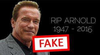 Facebook: Arnold Schwarzenegger ist tot – Achtung, Fake!