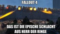 Fallout 4: YouTuber stellt Schlacht aus Herr der Ringe nach