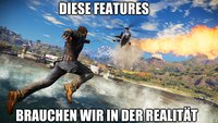 Welche Videospiel-Features hättest du gerne in der Realität?