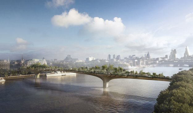 Londoner Garden Bridge: Bürgermeister bat Apple um Mithilfe
