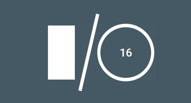 Die Webseite zur Google I/O 2016 startet bald.