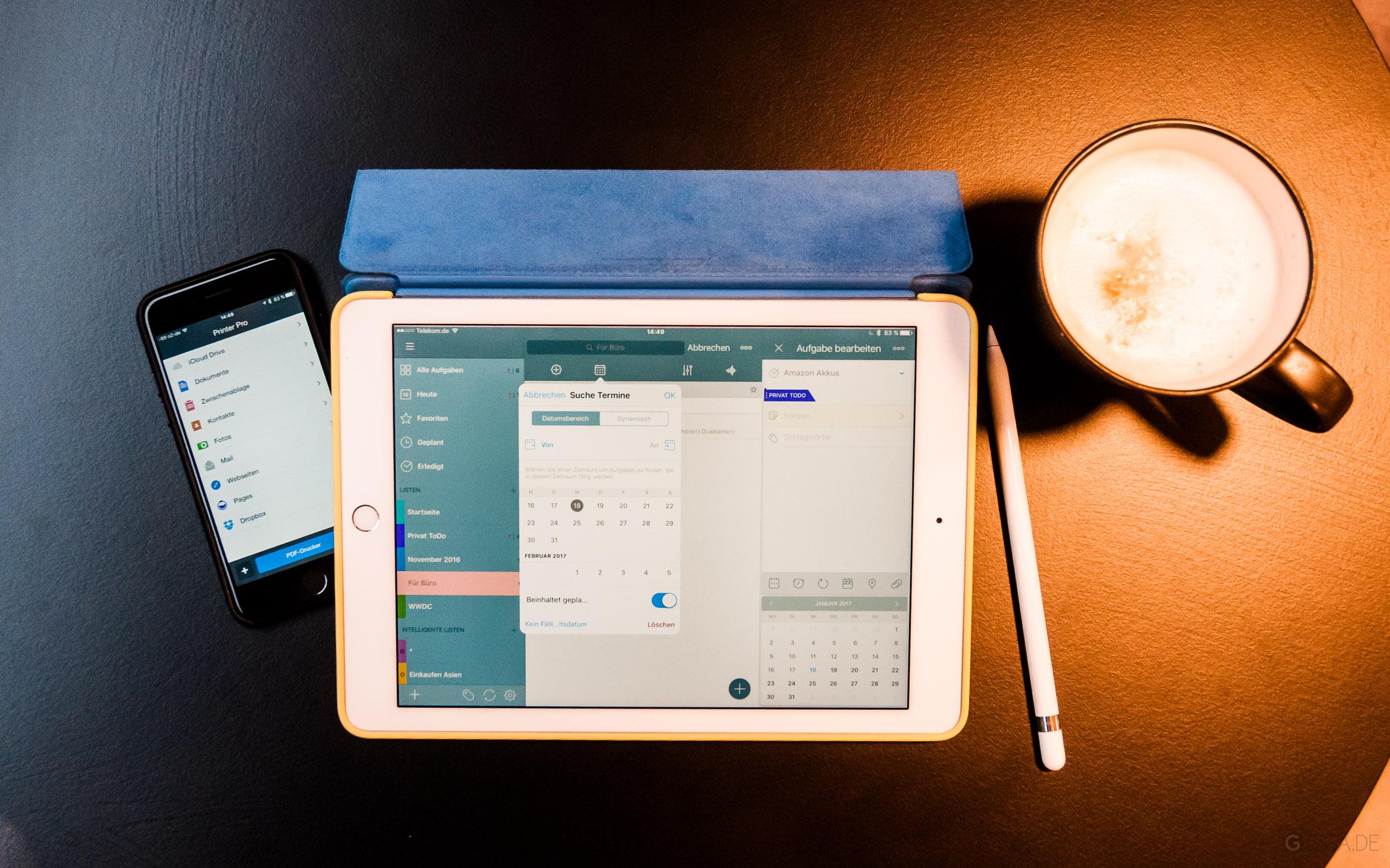 Nützliche Produktivitäts-Apps