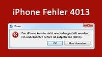 Lösung: iPhone Fehler 4013 – so behebt ihr das Problem