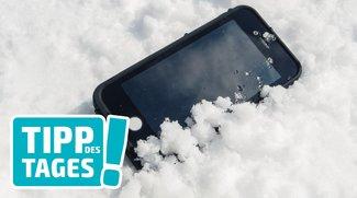 """iPhone schaltet sich aus: Tipp bei """"Kältestarre"""""""